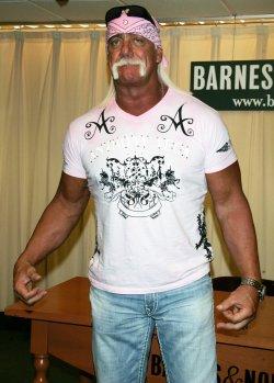Hulk Hogan Book Signing in New York