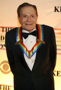 Jerry Herman arrives for Kennedy Center Honors Gala in Washington DC