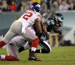 New York Giants at Philadelphia Eagles NFL Football