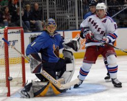 ATLANTA THRASHERS VS NEW YORK RANGERS