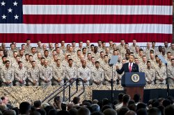 President Obama speaks at Camp Pendleton, California