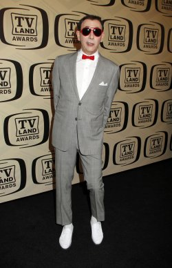 Paul Reubens arrives for the TV Land Awards in New York