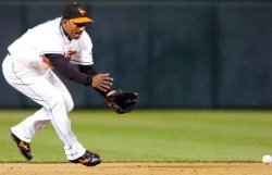 TAMPA BAY DEVIL RAYS AT BALTIMORE ORIOLES