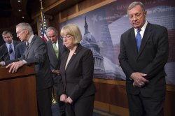 Senates Speak on Minimum Wage Vote in Washington, D.C.
