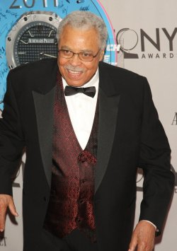 James Earl Jones attends the 65th Annual Tony Awards held in New York
