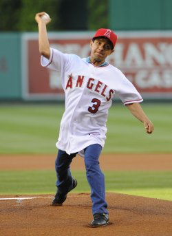 Los Angeles Angels vs Houston Astros in Anaheim, California