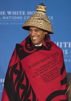 President Obama delivers remarks at the White House Tribal Nations Conference