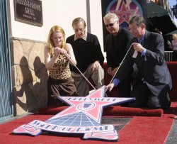 Actor William Petersen receives a star on the Hollywood Walk of Fame in Los Angeles