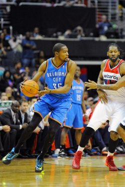 Washington Wizards vs Oklahoma City Thunder in Washington