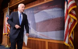 Sen. John McCain speaks on Sgt. Bowe Bergdahl in Washington, D.C.