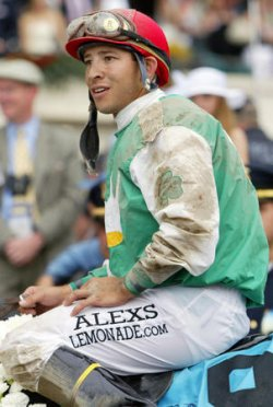 AFLEET ALEX WINS THE 2005 BELMONT STAKES