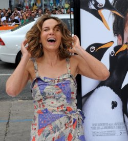 "Jennifer Grey attends the premiere of ""Mr. Popper's Penguins"" in Los Angeles"