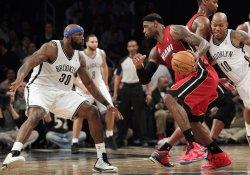 Nets vs Heat at the Barclays Center