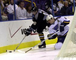 St. Louis Blues vs Pittsburgh Penguins hockey