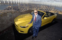 Ford Motor Company Executive Chairman Bill Ford at the Empire State Building