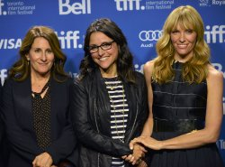 Nicole Holofcener and cast attend 'Enough Said' press conference at the Toronto International Film Festival