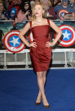 """Captain America: The Winter Soldier"" premiere in London"