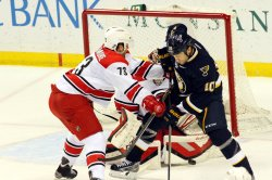 Carolina Hurricanes vs St. Louis Blues hockey