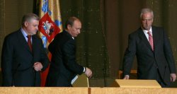 RUSSIAN PRESIDENT PUTIN DELIVERS THE ANNUAL STATE OF THE NATION IN KREMLIN