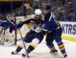 NASHVILLE PREDATORS VS ST. LOUIS BLUES HOCKEY