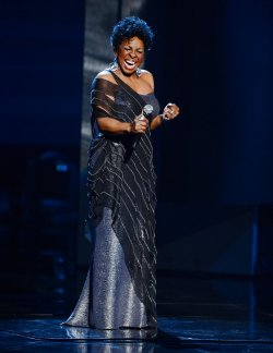 Singer Gladys Knight performs onstage at the 44th NAACP Image Awards in Los Angeles
