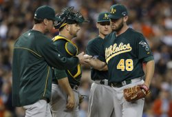 ALDS Oakland Athletics at Detroit Tigers in Detroit