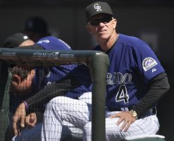 Rockies Host Diamondbacks for Opening Day in Denver..