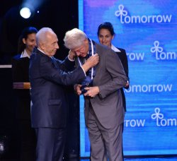 Bill Clinton At Israeli Presidential Conference, Jerusalem