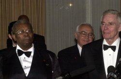 B.B.KING AND CHARLTON HESTON RECEIVE MARTIN LUTHER KING JR. AWARD