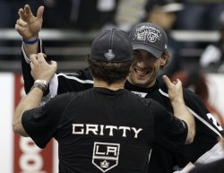 Kings celebrate Stanley Cup win with fans during parade and rally in Los Angeles