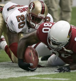 FORTY NINERS VS ARIZONA CARDINALS