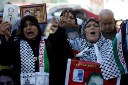 Protests on Palestinians Imprisoned in Israeli Jails