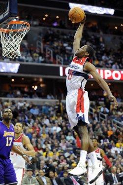 Jordan Crawford dunks in Washington