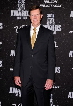 David Poile arrives at the 2012 NHL Awards in Las Vegas