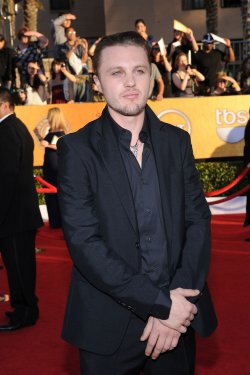 Actor Michael Pitt arrives at the 18th annual Screen Actors Guild Awards in Los Angeles