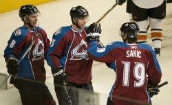 NHL Colorado Avalanche hosts Philadelphia Flyers