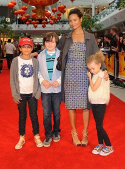 "Thandie Newton attends ""Kung Fu Panda 2"" premiere in London"
