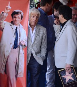Peter Falk receives posthumous star on the Hollywood Walk of Fame in Los Angeles