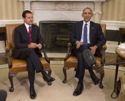 President Obama meets with Mexican President Enrique Pena Nieto