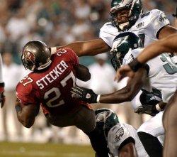 Tampa Bay Buccaneers and Philadelphia Eagles in NFL Football