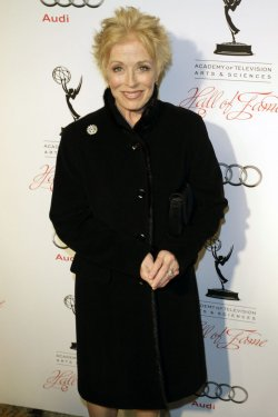 Actress Holland Taylor arrives for the Academy of Television Arts & Sciences 21st Annual Hall of Fame Ceremony in Beverly Hills