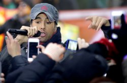 Enrique Iglesias performs on the NBC Today Show in New York