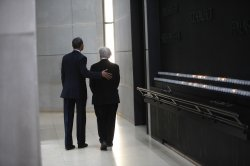 President Obama Visits Holocaust Museum in Washington