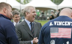 Prince Andrew presents The Duke of Edinburgh's Gold Awards at Government House in Victoria