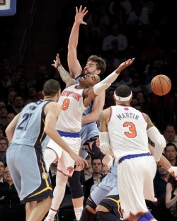 Knicks vs Grizzlies at Madison Square Garden