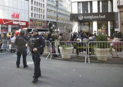 NYPD Security in Herald Square on Black Friday