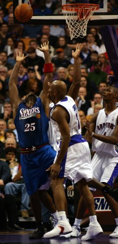 NBA BASKETBALL - TORONTO RAPTORS VS PHILADELPHIA 76ERS