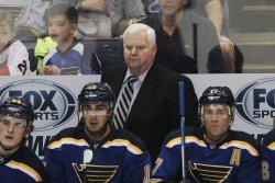 St. Louis Blues head coach Ken Hitchcock