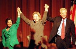 Hillary Clinton stumps for Boxer in California