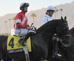 Fort Larned and Hernandez head out to race in California